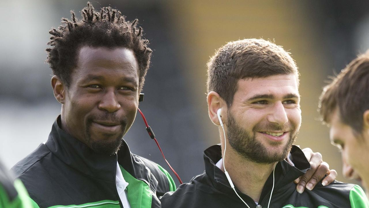 The Cabbage are gearing up for their Scottish League Cup game on Saturday, while the defender is reported to be partying in the northern Nigeria city