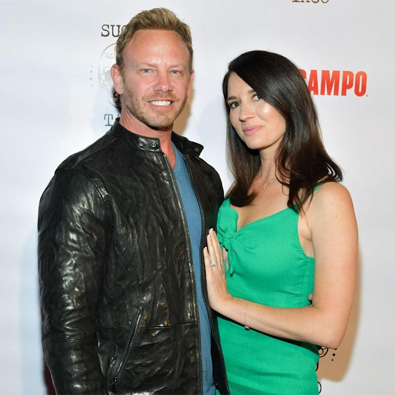 Ian Ziering and Erin Ludwig | Rodin Eckenroth/Getty