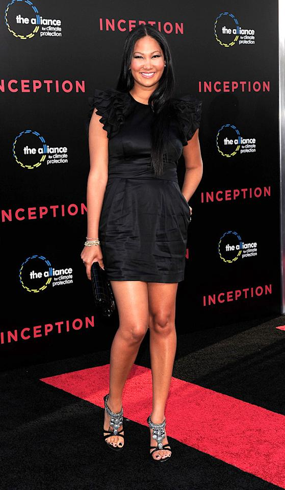 """<a href=""""http://movies.yahoo.com/movie/contributor/1804582589"""">Kimora Lee Simmons</a> at the Los Angeles premiere of <a href=""""http://movies.yahoo.com/movie/1810099246/info"""">Inception</a> - 07/13/2010"""