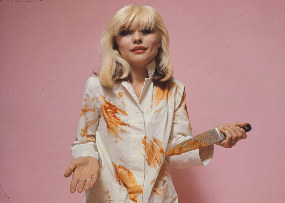 <p>She also snapped this portrait of Blondie's Debbie Harry in 1978. </p>