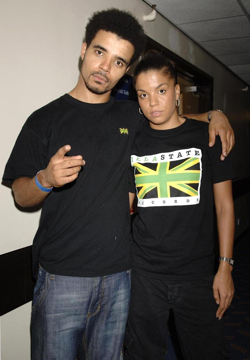 Akala with his sister Ms Dynamite in 2006 (PA)