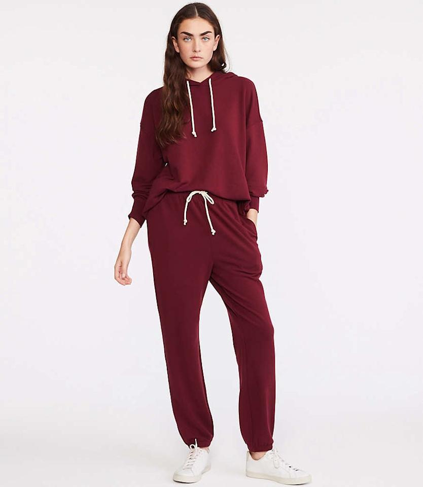 """<p>What's the best part about these <a href=""""https://www.popsugar.com/buy/Lou-amp-Grey-Signaturesoft-Super-Plush-Upstate-Sweatpants-521361?p_name=Lou%20%26amp%3B%20Grey%20Signaturesoft%20Super%20Plush%20Upstate%20Sweatpants&retailer=louandgrey.com&pid=521361&price=80&evar1=savvy%3Aus&evar9=45429515&evar98=https%3A%2F%2Fwww.popsugar.com%2Fphoto-gallery%2F45429515%2Fimage%2F46928956%2FLou-Grey-Signaturesoft-Super-Plush-Upstate-Sweatpants&list1=shopping%2Ctravel%2Cgifts%2Choliday%2Cgift%20guide%2Cgifts%20for%20women%2Cgifts%20for%20men&prop13=api&pdata=1"""" rel=""""nofollow"""" data-shoppable-link=""""1"""" target=""""_blank"""" class=""""ga-track"""" data-ga-category=""""Related"""" data-ga-label=""""https://www.louandgrey.com/signaturesoft-super-plush-upstate-sweatpants/506841?loc=ssphub_506841_111419&amp;icid=ssphub_506841_111419&amp;selectedColor=7903"""" data-ga-action=""""In-Line Links"""">Lou &amp; Grey Signaturesoft Super Plush Upstate Sweatpants</a> ($80)? Not only are they super soft, but they're also unisex.</p>"""