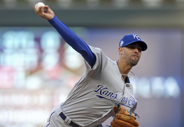 A half-season into his Royals tenure, Jorge Lopez nearly posted one of the team's biggest milestones. (AP Photo)