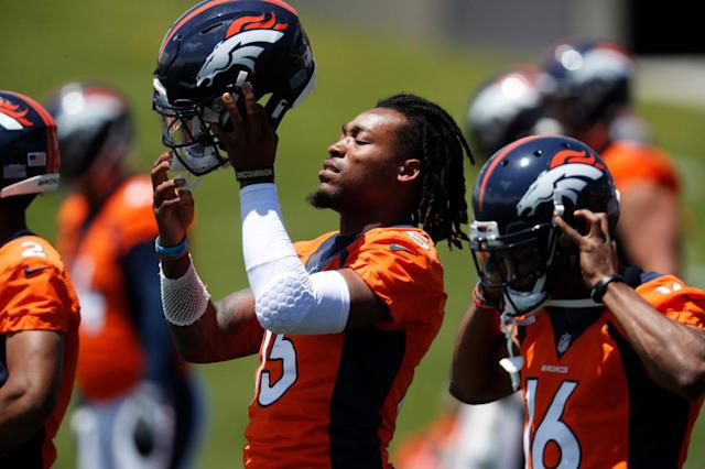 """He was going to rise."" Juwann Winfree's personal evolution leads to Broncos opportunity."