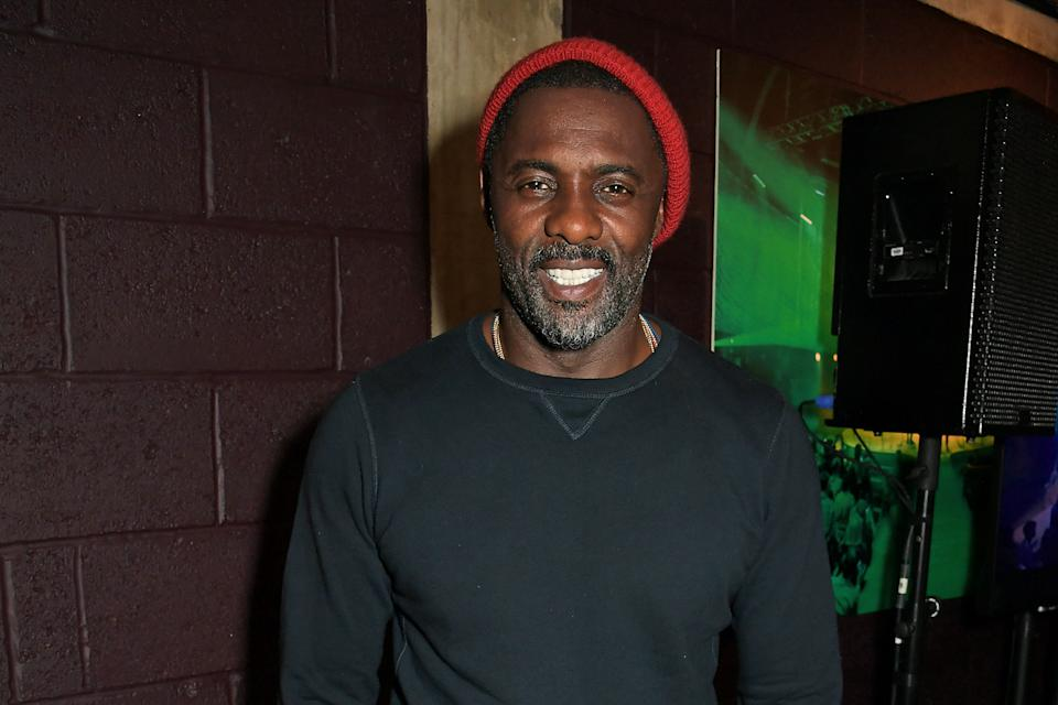 """LONDON, ENGLAND - AUGUST 01:   Co-Creator Idris Elba attends the press night after party for """"Tree"""" at The Young Vic on August 1, 2019 in London, England.  (Photo by David M. Benett/Dave Benett/Getty Images)"""
