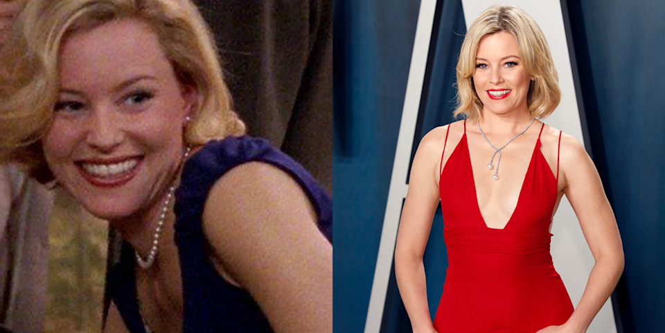 <p>Elizabeth Banks got her start in a brief, less-than-15-second cameo as Catherine, who happens to be the fiancée of Charlotte's latest fling. A year later, Banks nabbed her breakout role as Lindsay in <em>Wet Hot American Summer. </em>She is widely known for her flawless execution as the elaborate Effie Trinket in <em>The Hunger Games</em> film series. </p>