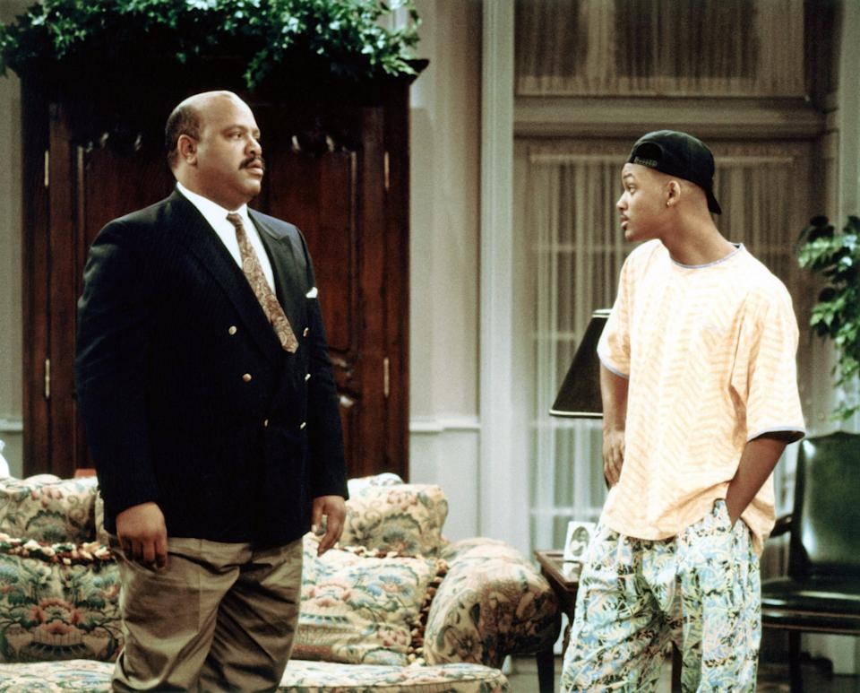 James Avery and Will Smith in a 1991 episode of 'The Fresh Prince of Bel-Air' (Photo: NBC / Courtesy: Everett Collection)