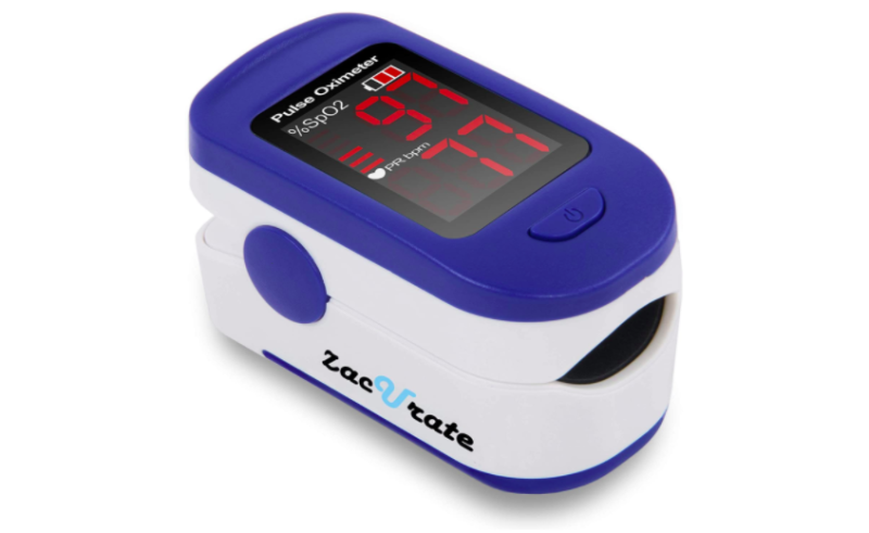 Zacurate Fingertip Pulse Oximeter. (Photo: Amazon)