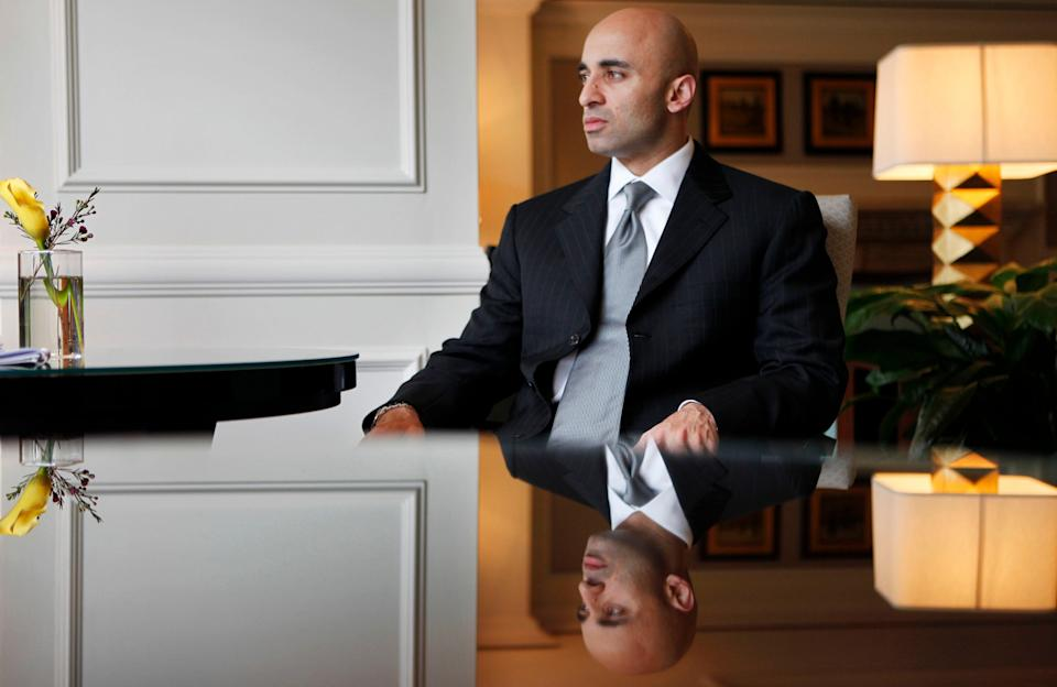 UAE Ambassador to the U.S. Yousef Al Otaiba, pictured in 2009, is expected to play on Americans' anxieties about Tehran and his country's positive reputation in Washington to win support for the $23 billion weapons sale to the Emirates. (Photo: ASSOCIATED PRESS)