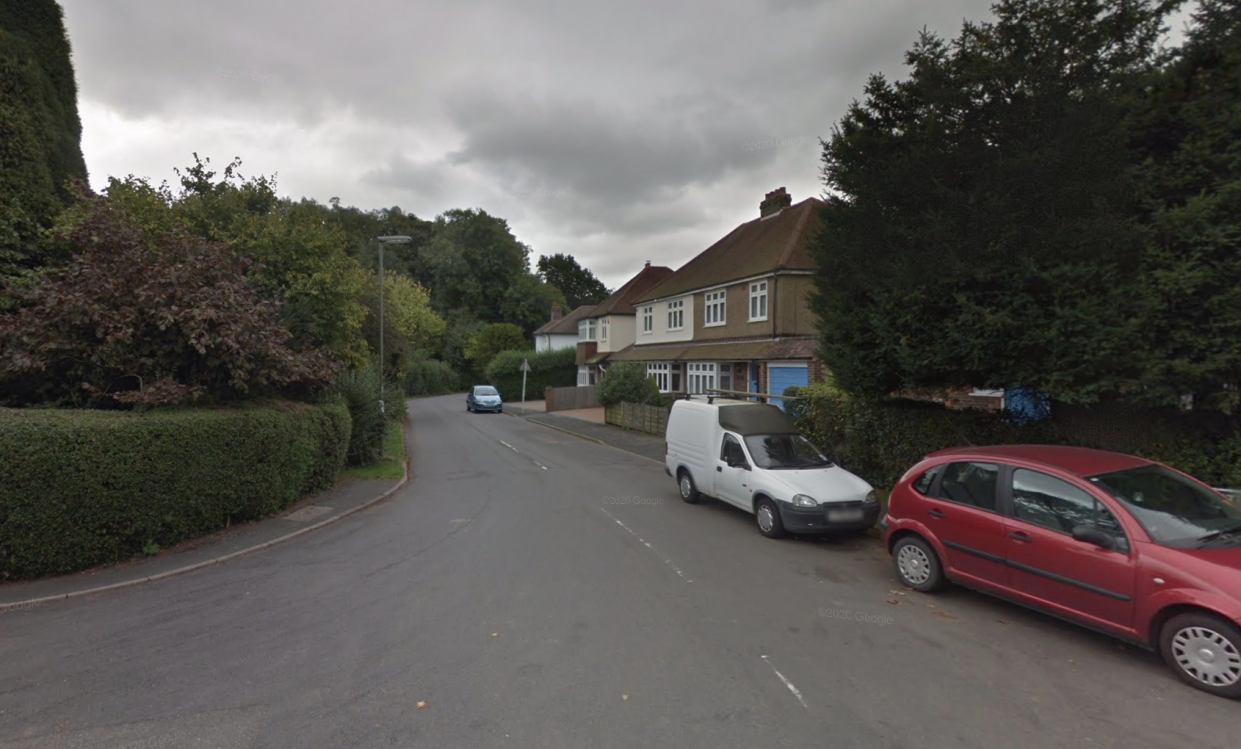 Officers discovered the event at Stubbs Lane, Kingswood. (Google)