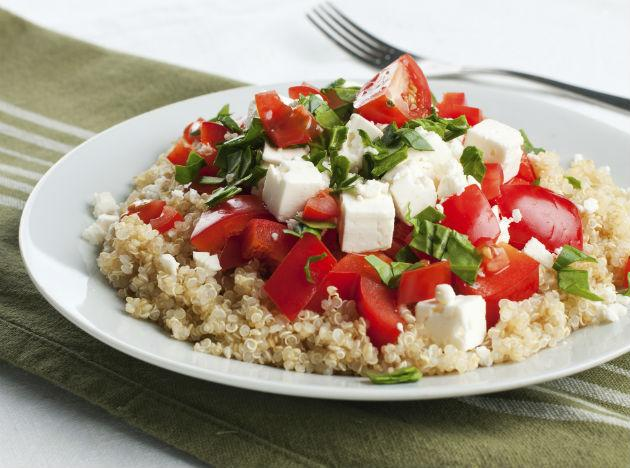 <p><strong>Diet food 10: Quinoa</strong><br /><br />Pronounced 'Keen-wah', quinoa is known as the 'mother grain' by the ancient Peruvians. Quinoa is good for weight loss as it has the power to keep you feeling fuller for longer due to its high protein content. Also the carbs that are present in the grain are released slowly into the body so you won't get that rush of energy after eating quinoa as you would with other foods like white rice or pasta. You can eat quinoa raw but we reckon it's best when it's cooked in a similar way to rice or couscous.</p>