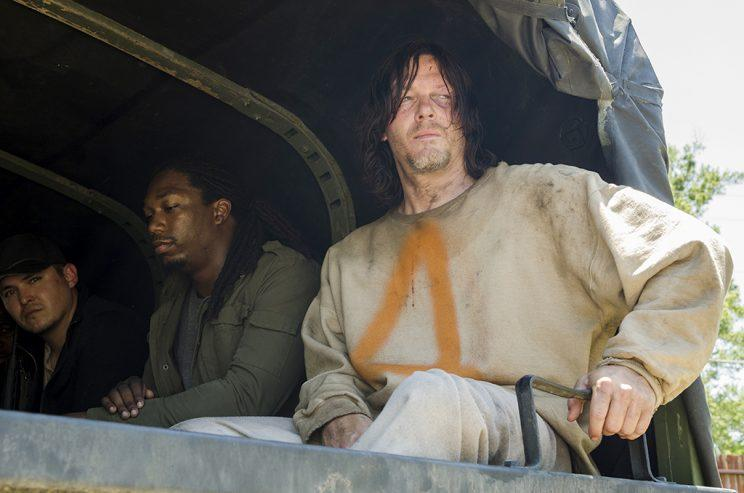 Saviors, Norman Reedus as Daryl Dixon (Credit: Gene Page/AMC)