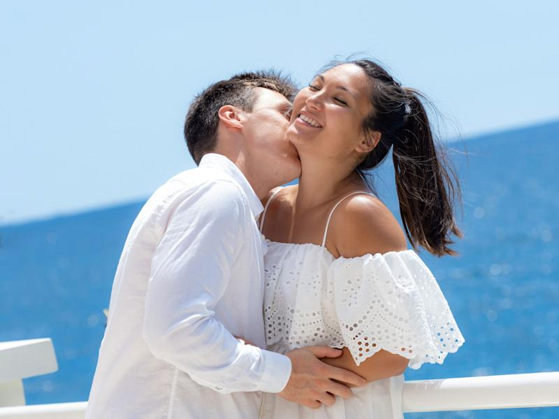 Marie Chevallier and Louis Ducruet after two days of post-wedding celebration in Monaco.
