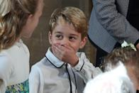 <p>It's not just the female royals who have sartorial style. At the age of 5, Prince George made it onto Tatler magazine's top 30 best dressed [Photo: Getty] </p>