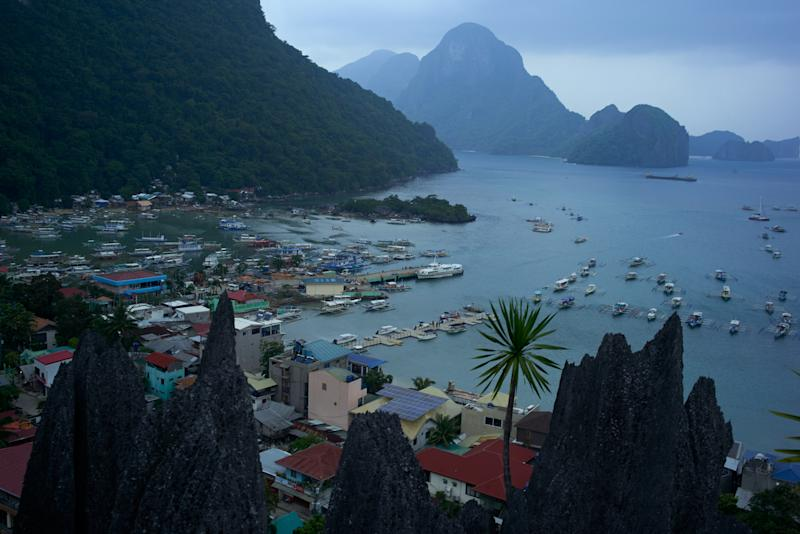 FILE PHOTO: A view of the town of El Nido, one of the famous tourists destinations in the world, on September 16, 2019 in El Nido, Philippines. (Photo by Jes Aznar/Getty Images)
