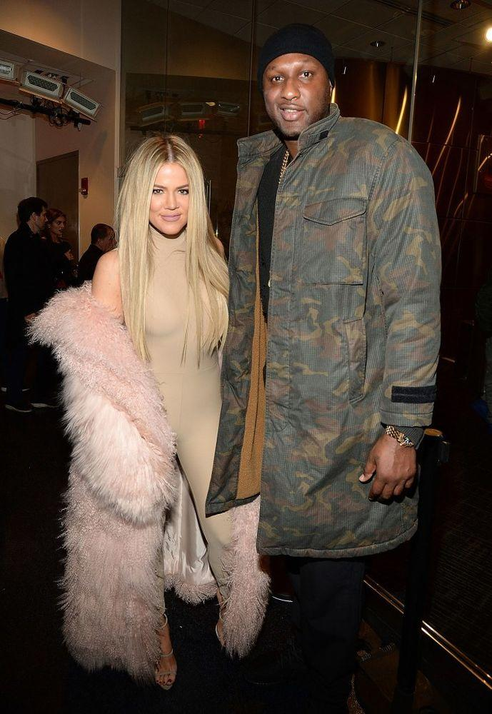 Khloé Kardashian and Lamar Odom | Kevin Mazur/Getty