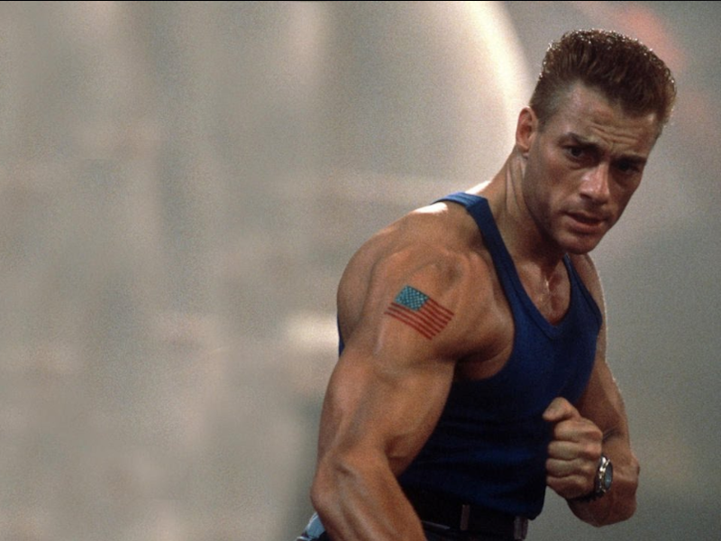 His dad in martial arts movie Street Fighter. Source: Universal Pictures