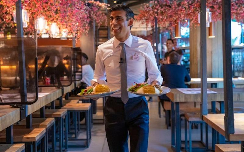 Come dine with me: Rishi Sunak serves meals at Wagamama after delivering his mini-Budget