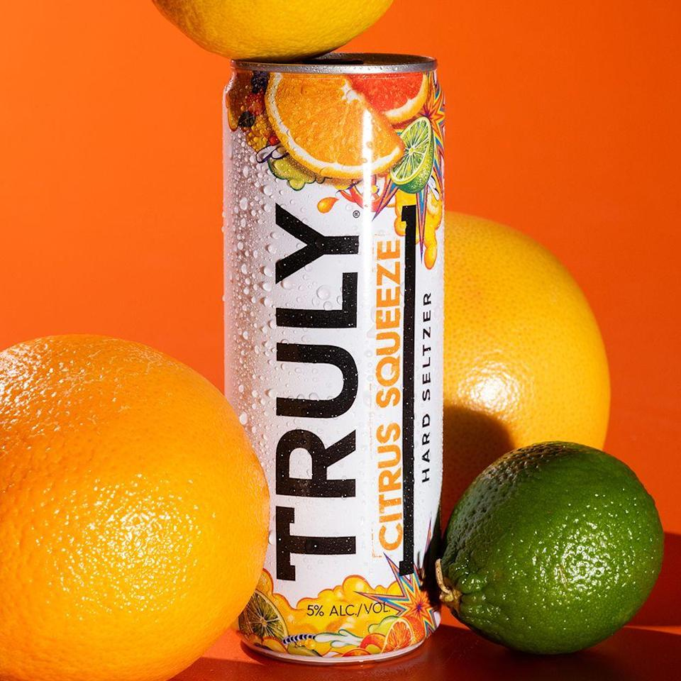 <p><strong>Category:</strong> Hard Seltzer</p><p><strong>Release:</strong> February 2021</p><p>Truly Hard Seltzer has a new flavor, and it'll revamp its Citrus Mix Pack. Citrus Squeeze, which replaces Orange, is a mix of citrus flavors with a powerful punch, according to the description. Each can has 5% ABV and you can find the Citrus Squeeze flavor in the variety pack as it rolls out in stores now.</p>