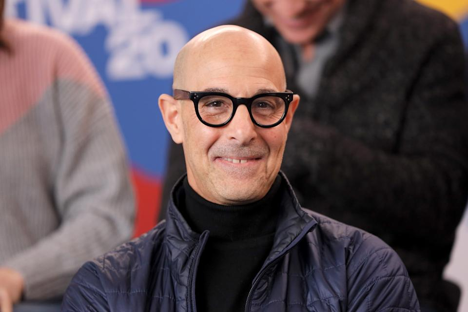 PARK CITY, UTAH - JANUARY 24: Stanley Tucci of 'Worth' attends the IMDb Studio at Acura Festival Village on location at the 2020 Sundance Film Festival – Day 1 on January 24, 2020 in Park City, Utah. (Photo by Rich Polk/Getty Images for IMDb)