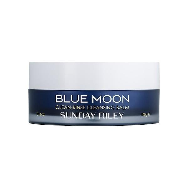 <p>This top-rated <span>Sunday Riley Blue Moon Clean-Rinse Cleansing Balm</span> ($50) features sugar-based cleansers and cocoa butter to remove dirt, makeup and other impurities while also adding moisture back in. And, while there are blue tansy, sweet orange, and chamomile essential oils inside, there's no added fragrance.</p>