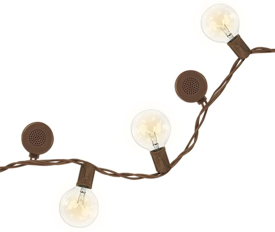 <p>Take string lights to a whole new level with the <span>Bright Tunes Indoor/Outdoor Warm Incandescent Clear Round Bulbs Lights With Bluetooth Speakers</span> ($16). It's the ultimate backyard upgrade.</p>