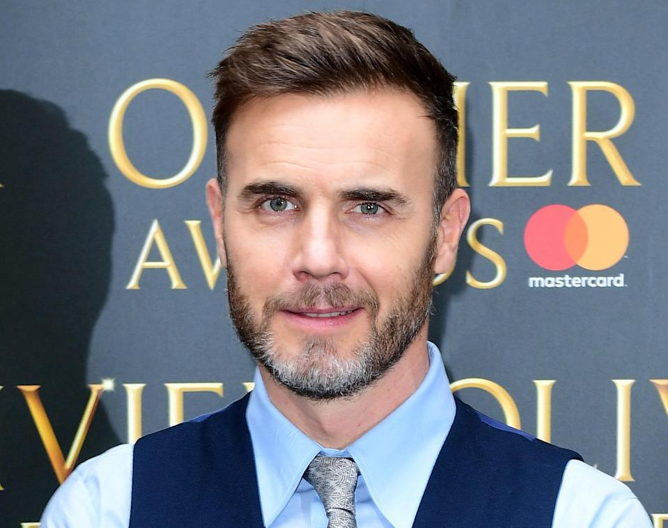 Gary Barlow arriving at the Olivier Awards Nominations Party (Ian West/PA Wire)