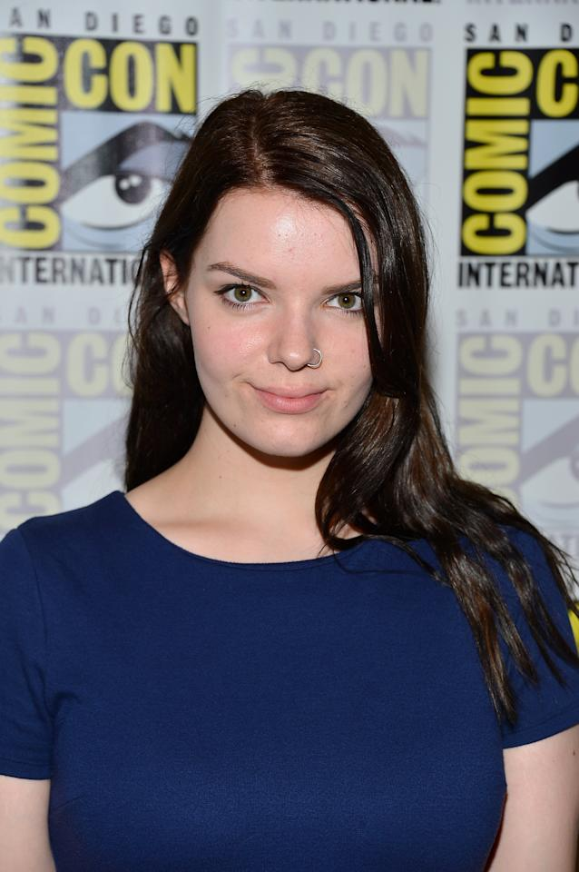 "SAN DIEGO, CA - JULY 13:  Sianoa Smit-McPhee  attends ""Paranorman"" during Comic-Con International 2012 held at the Hilton San Diego Bayfront Hotel on July 13, 2012 in San Diego, California.  (Photo by Frazer Harrison/Getty Images)"