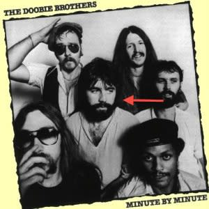 "Photo by: amazon.com<br>That Doobie Brother-<br>Your Mom Loves: ""Listen to the Music"" <br> I Love: Arrowed Doobie's sad eyes and tease of chest hair"