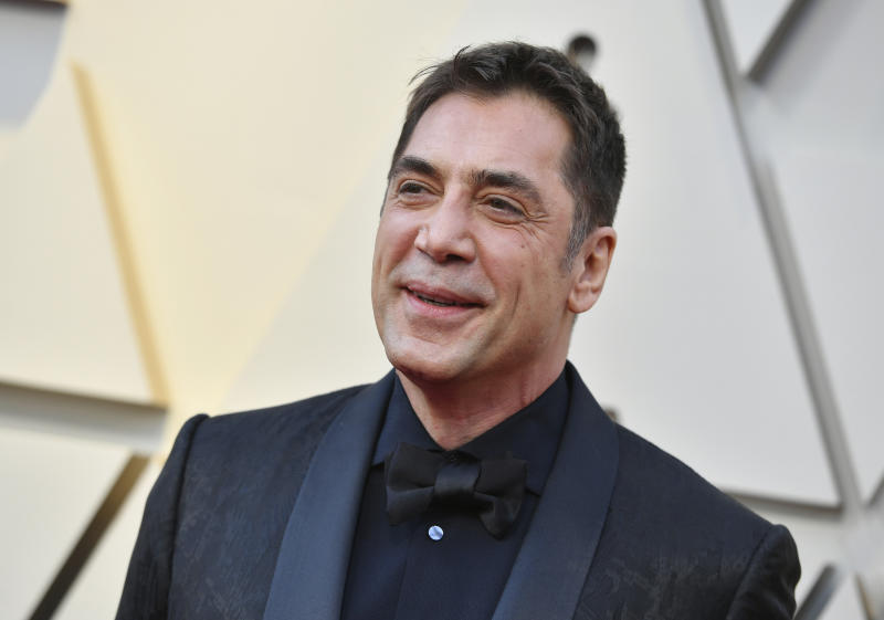 Javier Bardem arrives at the Oscars on Sunday, Feb. 24, 2019, at the Dolby Theatre in Los Angeles. (Photo by Jordan Strauss/Invision/AP)