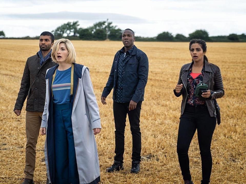 Jodie Whittaker in Doctor Who (Credit: BBC)