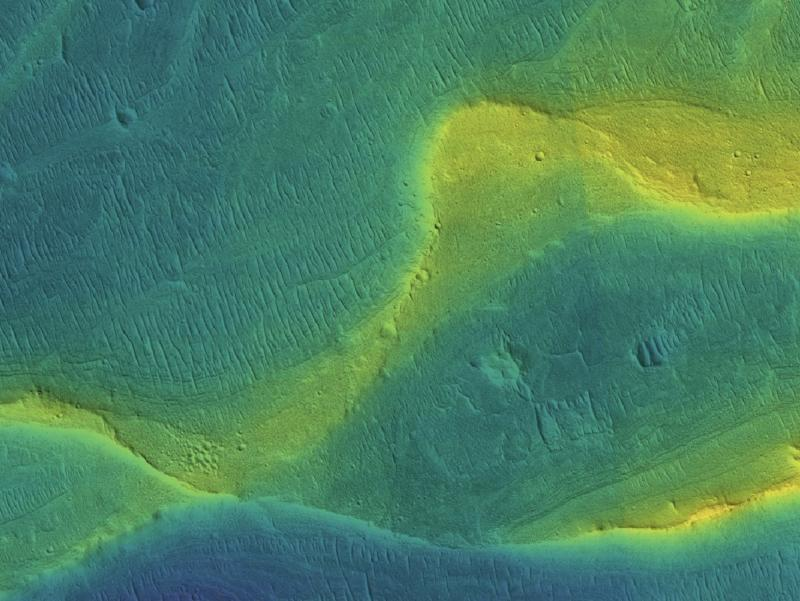 Rivers on Mars may have flowed more recently than previously thought