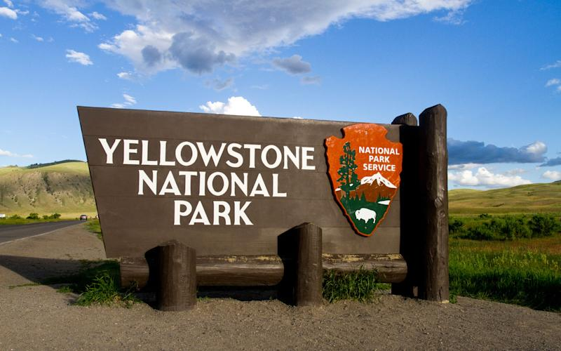 Image result for yellowstone entrance
