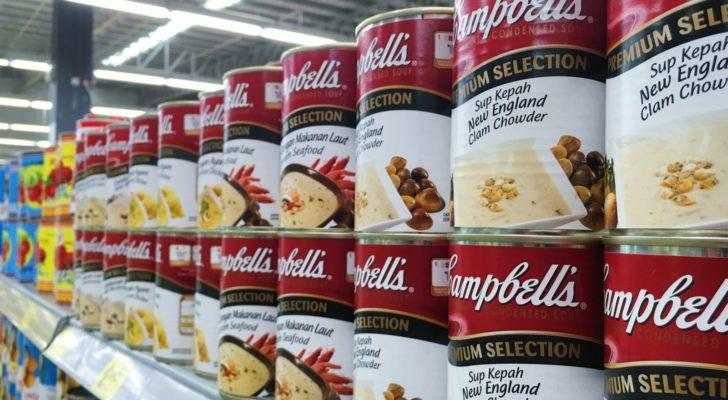 best consumer stocks to buy now: Campbell Soup (CPB)