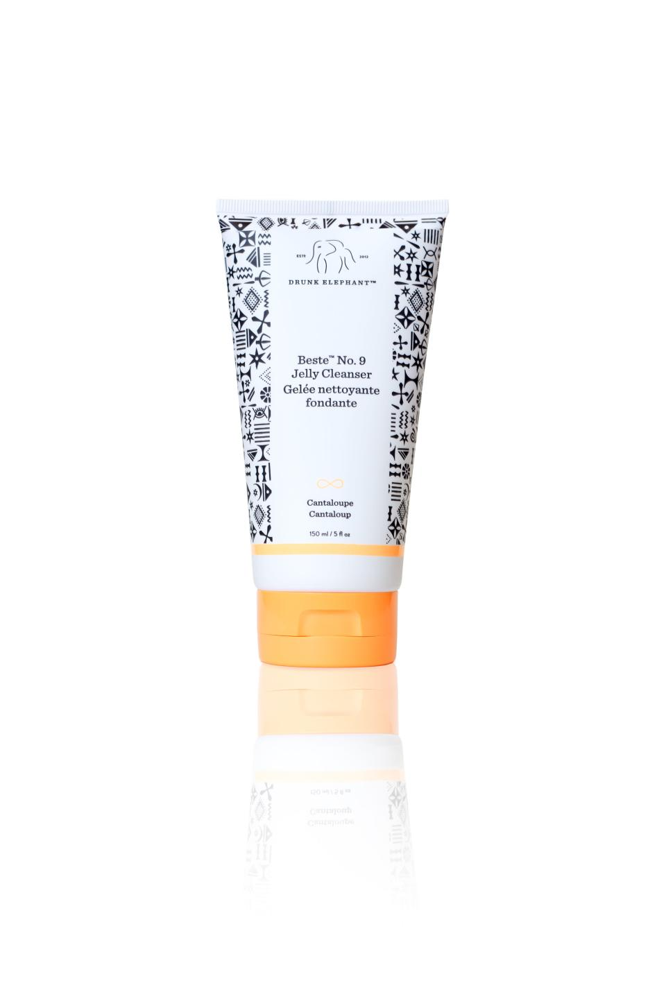 """<p>The obsession with Drunk Elephant's Beste No. 9 Cleanser is real — and for all the right reasons. Like all products from the brand, commonplace irritants like silicones and fragrance are replaced with skin-perfecting goodness like makeup-melting emollients and mega-hydrators, aloe vera and glycerin, which do all the dirty work — or rather, clean work. Skin is left fresh and coddled with a post-wash glow thanks to marula oil and cantaloupe extract.</p> <p><strong>$32</strong> (<a href=""""https://shop-links.co/1689628335050945875"""" rel=""""nofollow noopener"""" target=""""_blank"""" data-ylk=""""slk:Shop Now"""" class=""""link rapid-noclick-resp"""">Shop Now</a>)</p>"""
