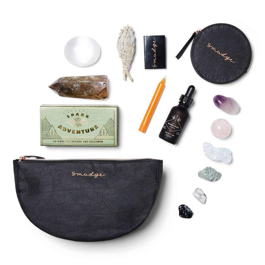 """<p><strong>Smudge Wellness</strong></p><p>smudgewellness.com</p><p><strong>$90.00</strong></p><p><a href=""""https://go.skimresources.com?id=74968X1525079&xs=1&url=https%3A%2F%2Fsmudgewellness.com%2Fproducts%2Fthe-health-spell-full-moon-version"""" rel=""""nofollow noopener"""" target=""""_blank"""" data-ylk=""""slk:Shop Now"""" class=""""link rapid-noclick-resp"""">Shop Now</a></p><p>Giving the gift of crystals to help cleanse her space shows that you care about her well-being and promotes major self-care. </p>"""