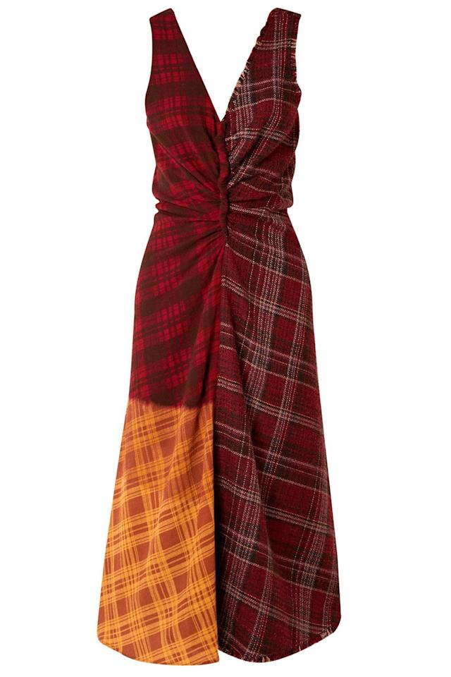 "<p><a rel=""nofollow"" href=""https://www.net-a-porter.com/gb/en/product/1067472/Acne_Studios/patchwork-checked-wool-tweed-and-crepe-dress"">SHOP NOW – 40% OFF</a></p><p>This is an excellent work-to-weekend frock that will see you through winter.</p><p><em>Wool dress, was £700, now £420, Acne Studios at Net-a-Porter</em></p>"