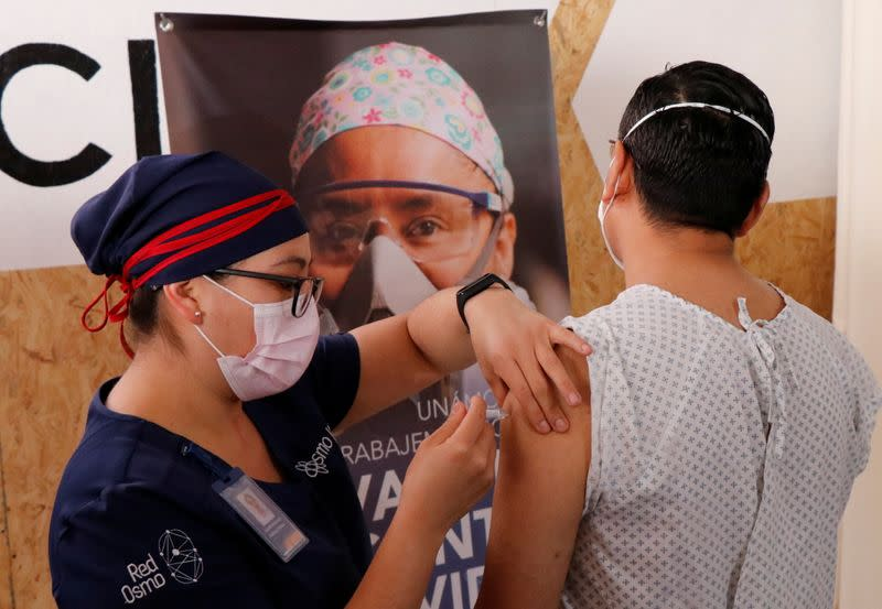 FILE PHOTO: CanSino Biologics delivers COVID-19 vaccine to Mexico for late-stage trial