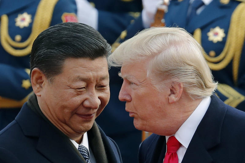 Trump raises hopes of China trade deal