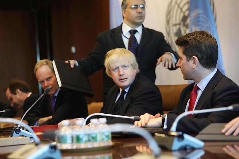 Foreign Secretary Boris Johnson is pushing for sanctions on Russia: Getty Images