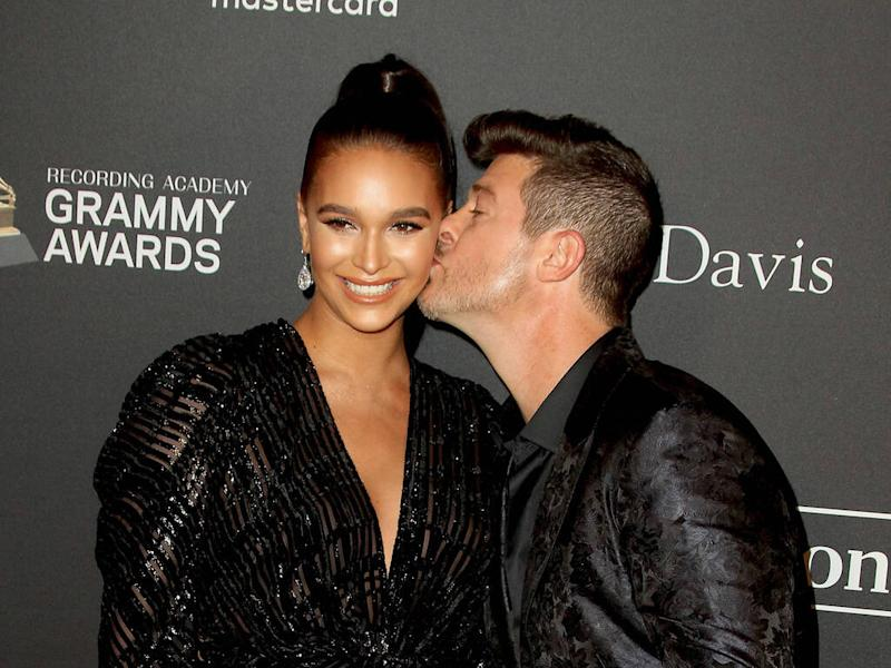 Robin Thicke to be a dad again - report