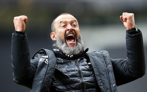 Wolverhampton Wanderers manager Nuno Espirito Santo during the Premier League match at Molineux, Wolverhampton - Credit:  Nick Potts/PA