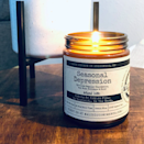 """$20, Malicious Women Co.. <a href=""""https://maliciouswomenco.com/products/seasonal-depression-its-like-regular-depression-but-with-holidays-shit-infused-with-eating-an-entire-pie-by-yourself-in-the-dark-scent-hot-apple-pie?_pos=6&_sid=26a3b256c&_ss=r"""" rel=""""nofollow noopener"""" target=""""_blank"""" data-ylk=""""slk:Get it now!"""" class=""""link rapid-noclick-resp"""">Get it now!</a>"""