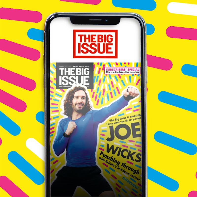 Joe Wicks has appeared on the cover of The Big Issue. (PA Images)