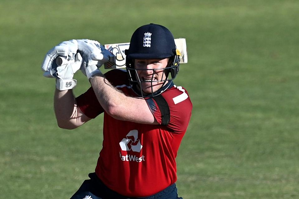 <p>England's limited-overs captain Eoin Morgan insists there is nothing untoward about their signal system</p> (Getty Images)