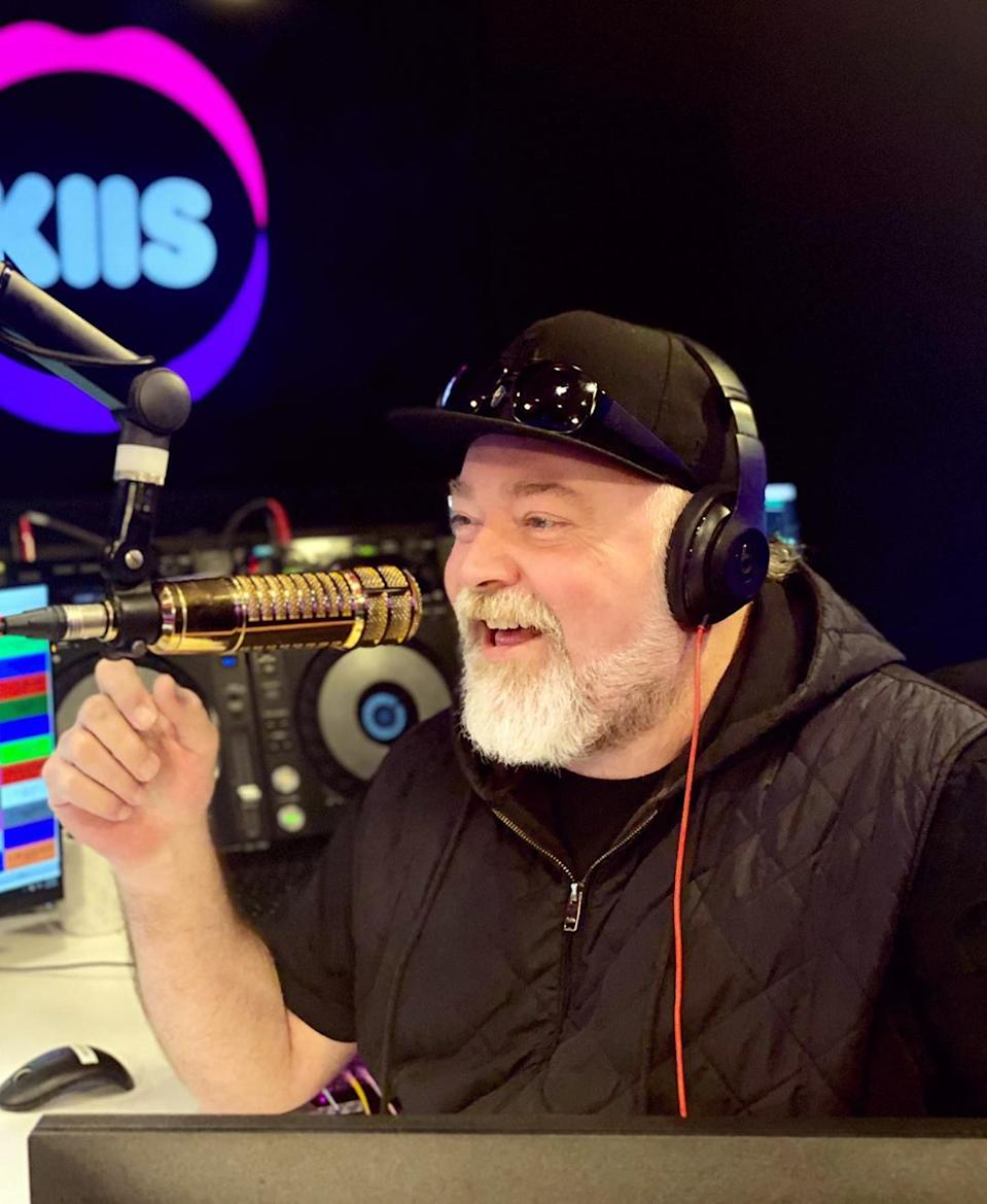 Kyle Sandilands on air with with KIIS FM.