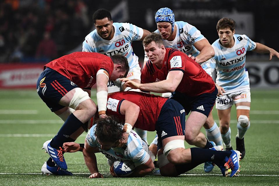 <p>Flannery will soon face a reunion with former side Munster in the Heineken Champions Cup</p>AFP via Getty Images