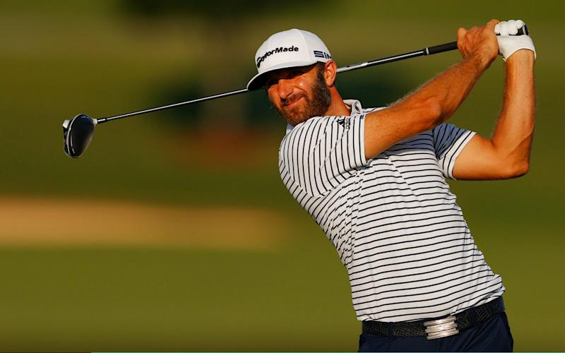 Dustin Johnson five shots ahead at Tour Championship as he nears his first FedEx Cup crown - Getty Images
