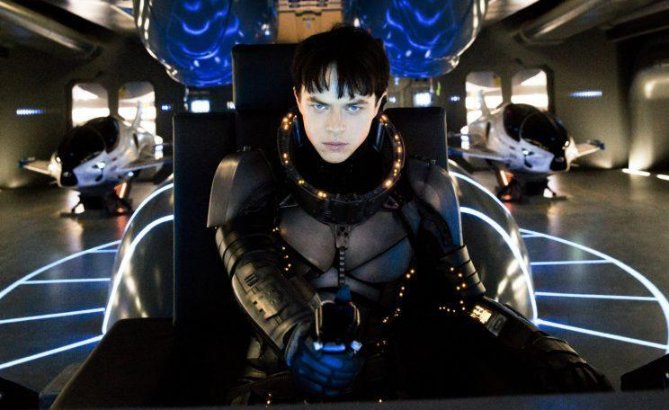 Flop... Valerian's done pretty poor business on its opening weekend in the US - Credit: EuropaCorp