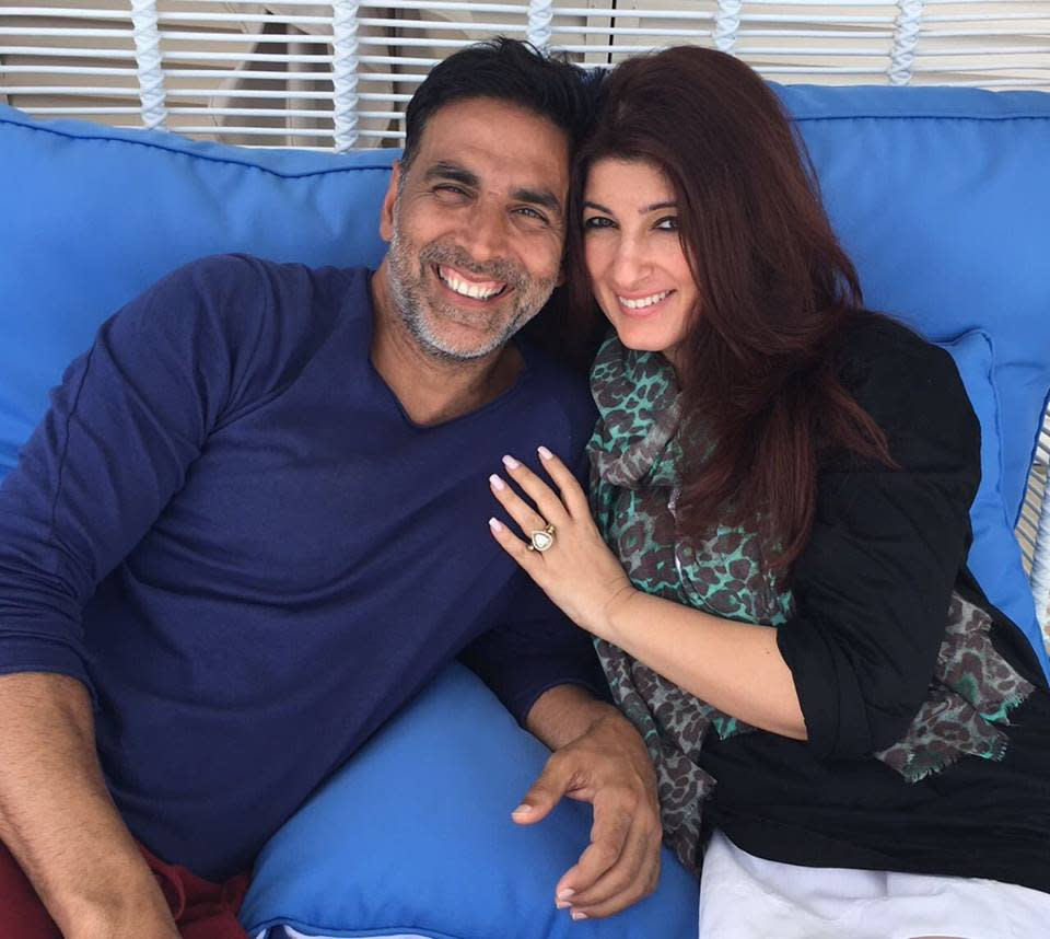 """<p>The Khiladi image of the actor couldn't come to rescue when the Rowdy Rathod star got slapped by wife Twinkle Khanna at the lobby of a famous luxury hotel. If we are to believe the grape wine, the mother of two even showed Akshay the door asking him to get out of the house on account of his infamous and """"alleged"""" affair with co-star Priyanka Chopra. </p>"""